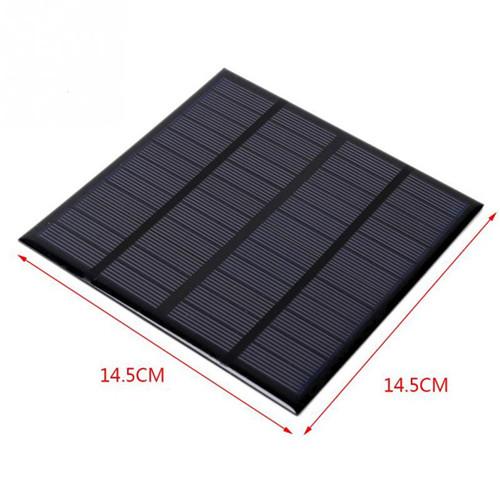 Custom Shape Size 145x145 mm 2.8 Watt 12 Volt Epoxy Resin Small Mini Polycrystalline Monocrystalline Solar Panel Cell Module