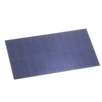 Custom Size 120x70 mm High Efficient 1.6 Watt 5.5 Volt PET Small Sunpower Solar Panel Price Cost for 3.7 Volt battery charging