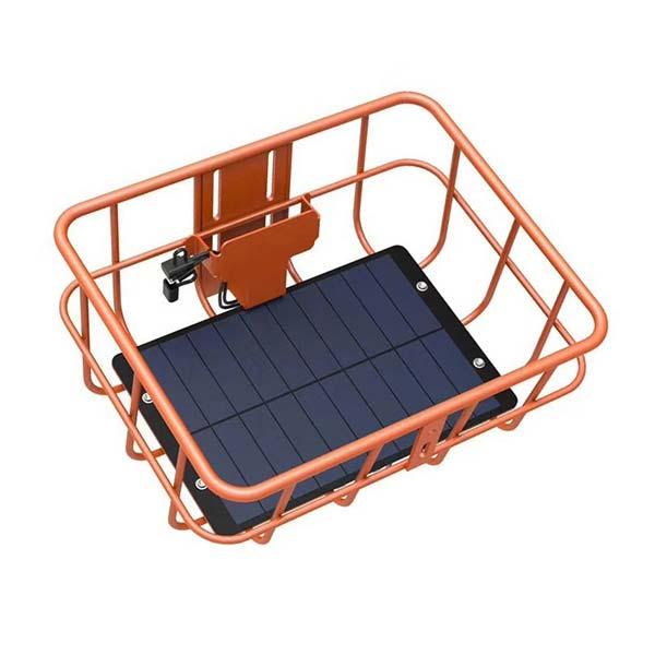 solar panel for bike sharing