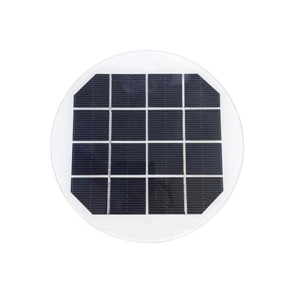 1.65Watt 4 Volt Glass Solar panel