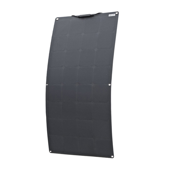 100W ETFE SunPower all black Semi flexible Solar Panels