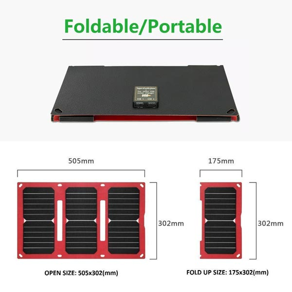 portable Solar Panel charger for camping